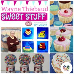 Painting Sweets Like Wayne Thiebaud
