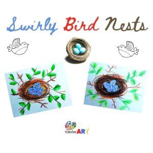 Swirly Bird Nests