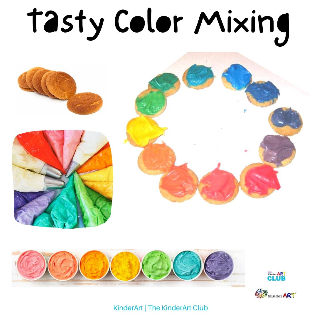 Tasty Color Mixing
