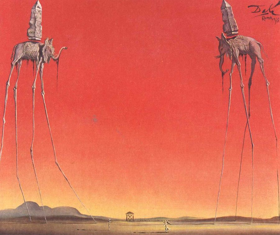 Salvador Dali - The Elephants