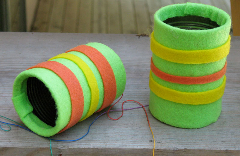 Tin can telephone summer camp crafts and lessons for kids for Summer camp arts and crafts projects