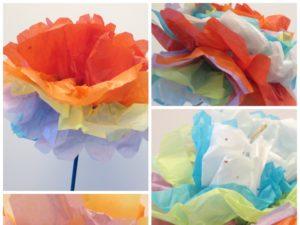 Tissue paper carnations monthly seasonal crafts kinderart mightylinksfo