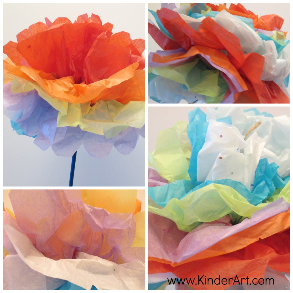 Tissue paper carnations monthly seasonal crafts kinderart tissue paper carnations mightylinksfo Gallery
