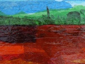 Tissue Paper Landscapes