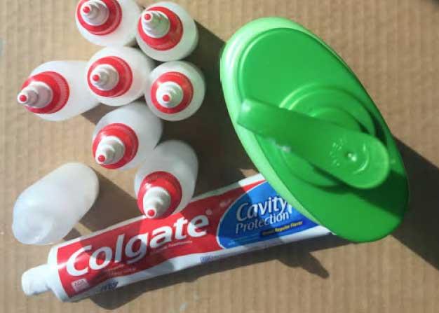 Toothpaste Batik Step 1