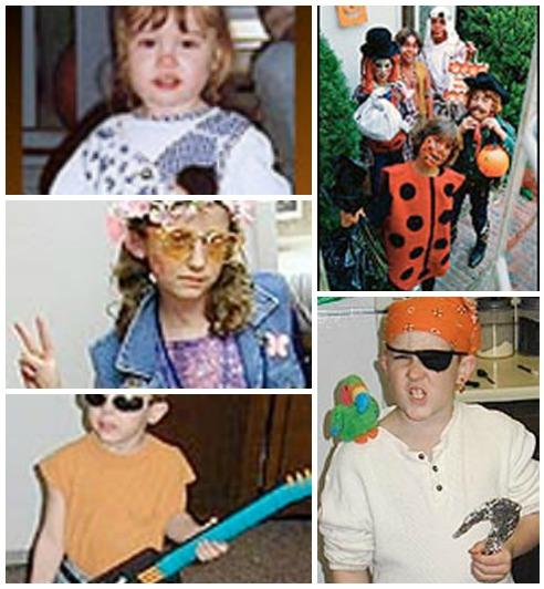 Traditional Halloween Costumes. KinderArt.com