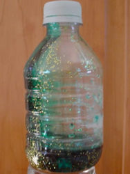 Treasure bottle (calm down jar)