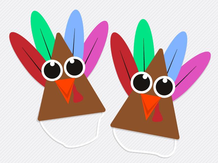 Turkey Party Hat Crafts