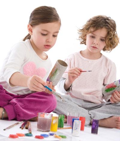 TV-Free Activities for Kids. KinderArt.com