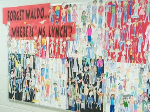 Where's Waldo Bulletin Board idea