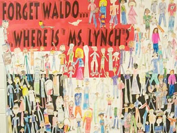 Where's Waldo Bulletin Board idea