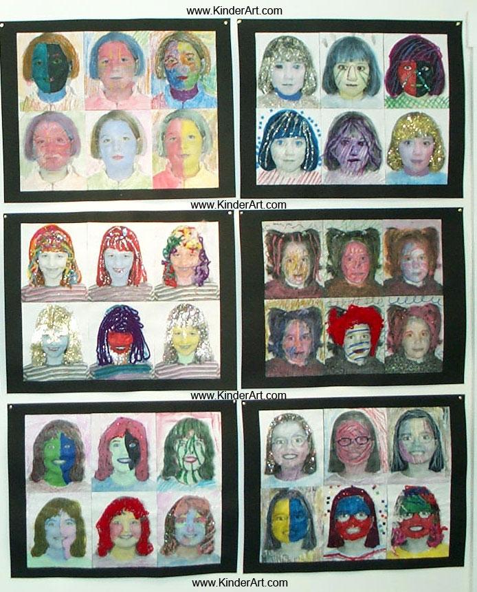 Bien-aimé Pop Art Portraits in the Style of Andy Warhol PO59