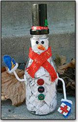 Waste Not Snowman