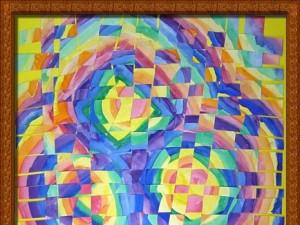 Weaving a Watercolor