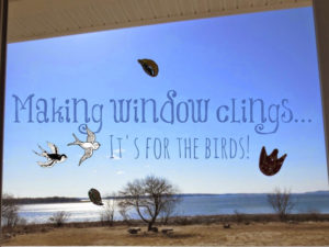 Make window clings.