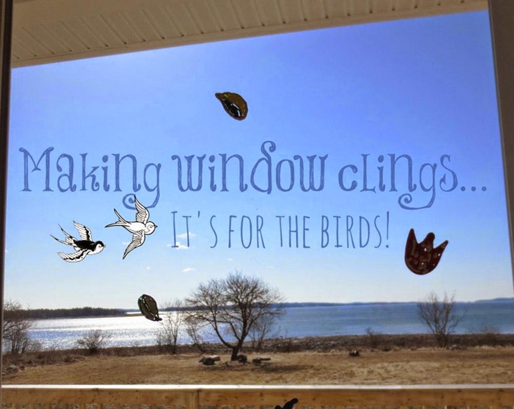 Make window clings.