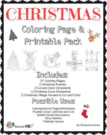 Christmas Pack from Teachers Pay Teachers